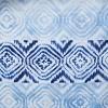 Kali Diamonds Shower Curtain Blue - Saturday Knight Ltd. - image 2 of 3