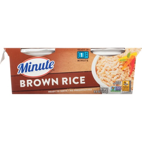 Ready To Serve Fully Cooked Brown Rice