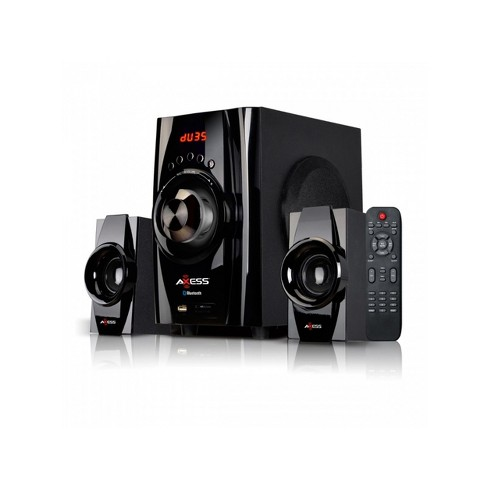 Axess Bluetooth Mini 2.1 Channel Home Theater Speaker System - image 1 of 2