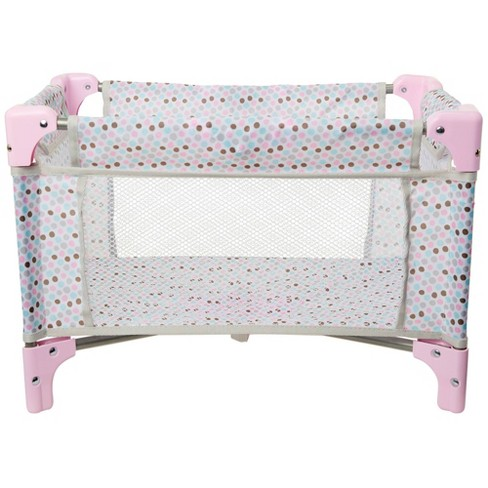 Perfectly Cute Play & Pack Folding Crib - image 1 of 4