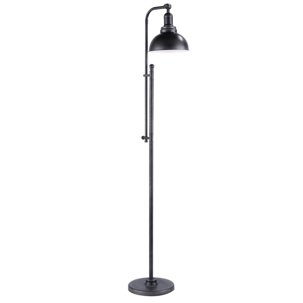 53 66 34 Emery Floor Lamp Antique Silver Lumisource