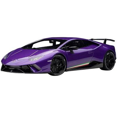 Lamborghini Huracan Performante Viola Pasifae / Pearl Purple with Black Wheels 1/12 Model Car by Autoart