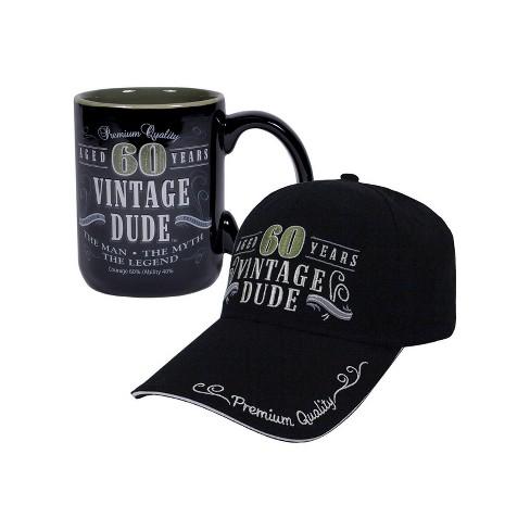 Vintage Dude 60 Hat And Coffee Mug Bundle Target