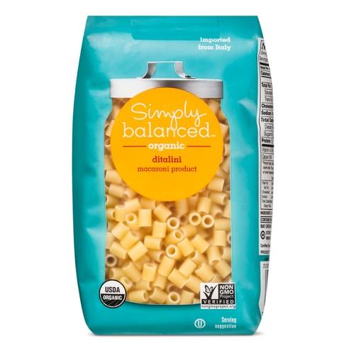 Organic Ditalini Pasta - 16oz - Simply Balanced™ - image 1 of 3