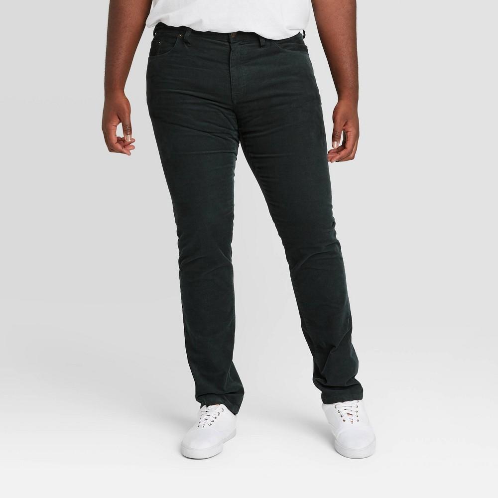 Compare Men's Big & Tall Slim Fit Corduroy 5-Pocket Pants - Goodfellow & Co™