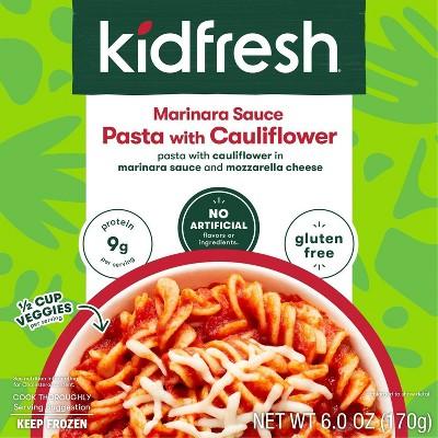 Kidfresh Frozen Cauliflower Pasta and Marinara - 6oz