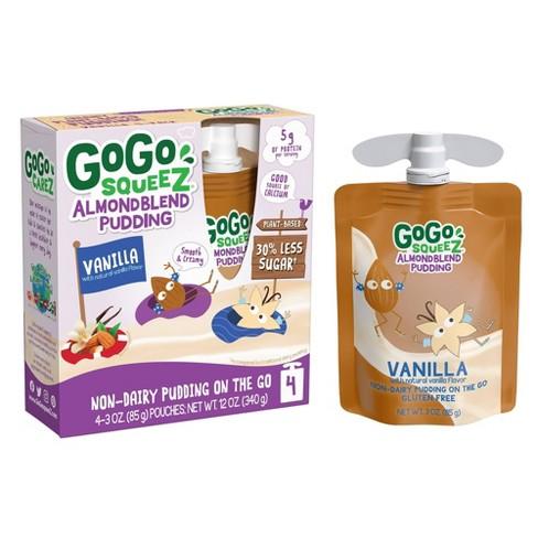 GoGo SqueeZ Almond Blend Vanilla Pudding - 3oz/4ct - image 1 of 4