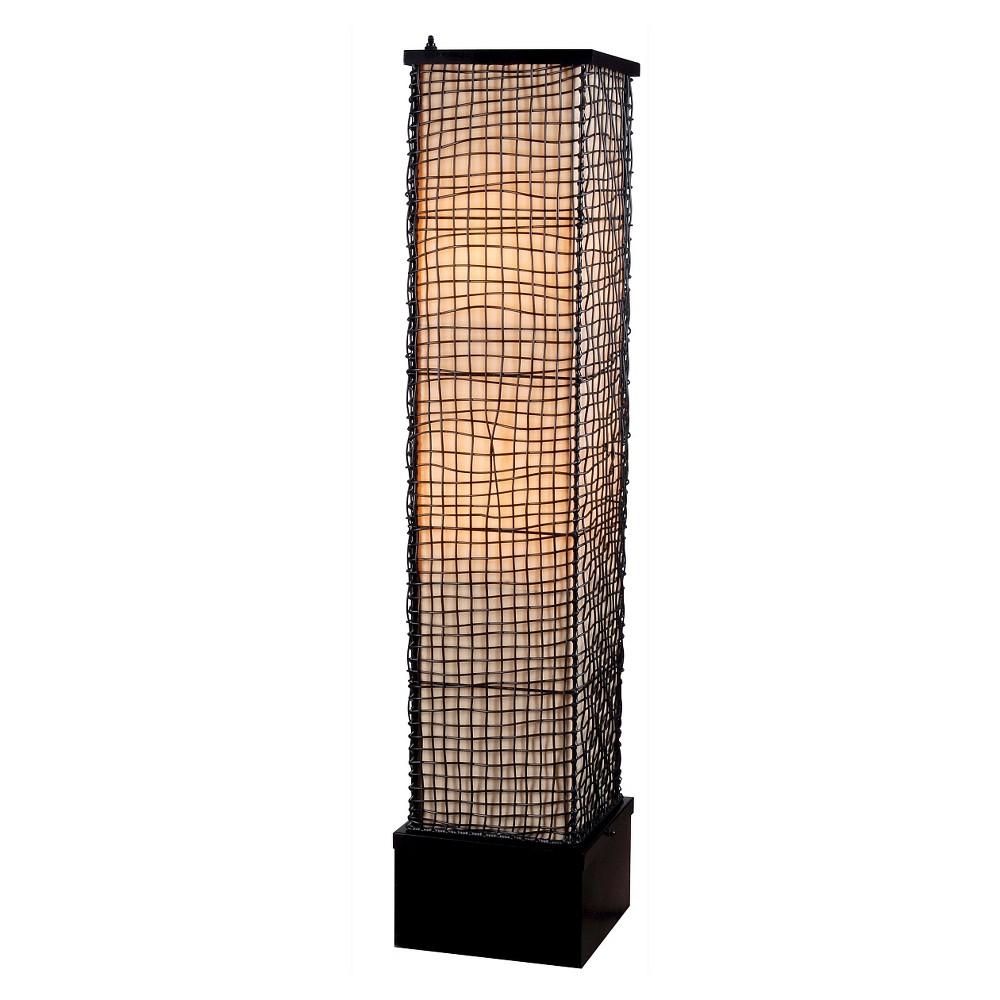 Image of Trellis Outdoor floor lamp, Yellow