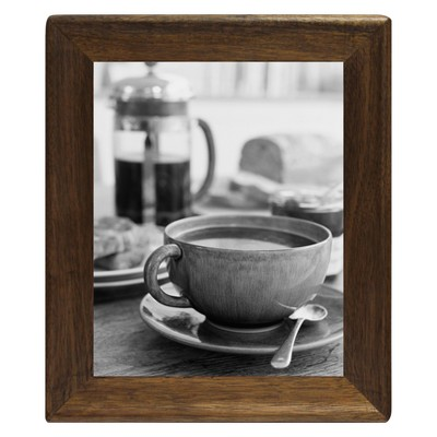"8"" x 10"" Rounded Corner Frame Golden Walnut - Threshold™"
