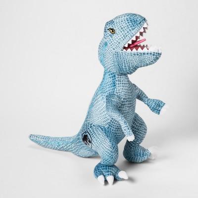 Jurassic World T-Rex Throw Pillow Blue