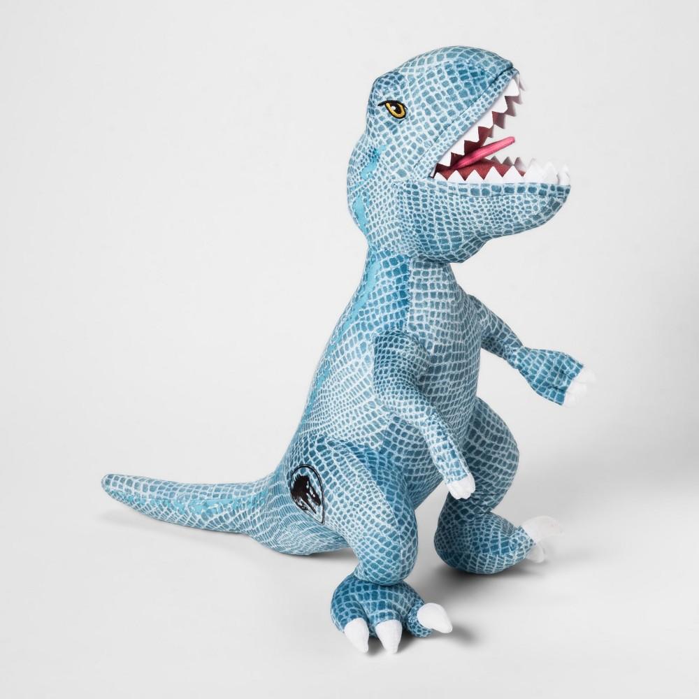 Image of Jurassic World T-Rex Throw Pillow Blue