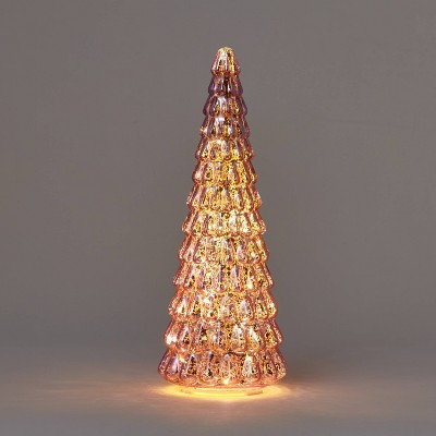 Lit Large Mercury Christmas Tree Decorative Figurine - Wondershop™