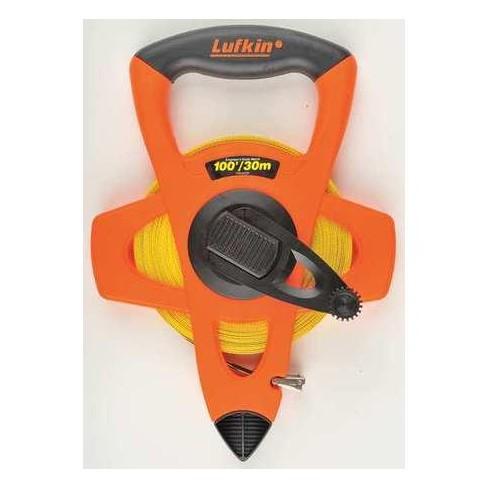 """CRESCENT LUFKIN FM030DM 30M Long Tape Measure, 1/2"""" Blade, Orange/Black - image 1 of 1"""