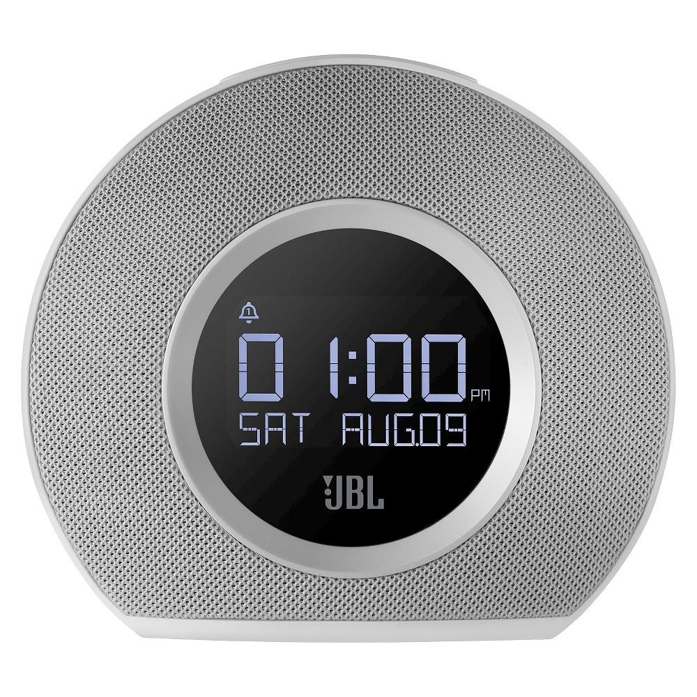 JBL Horizon Bluetooth Clock Radio- White