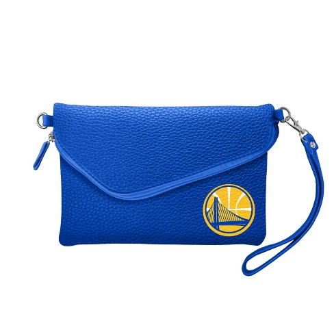 NBA Golden State Warriors Fold Over Pebble Crossbody Bag - image 1 of 2