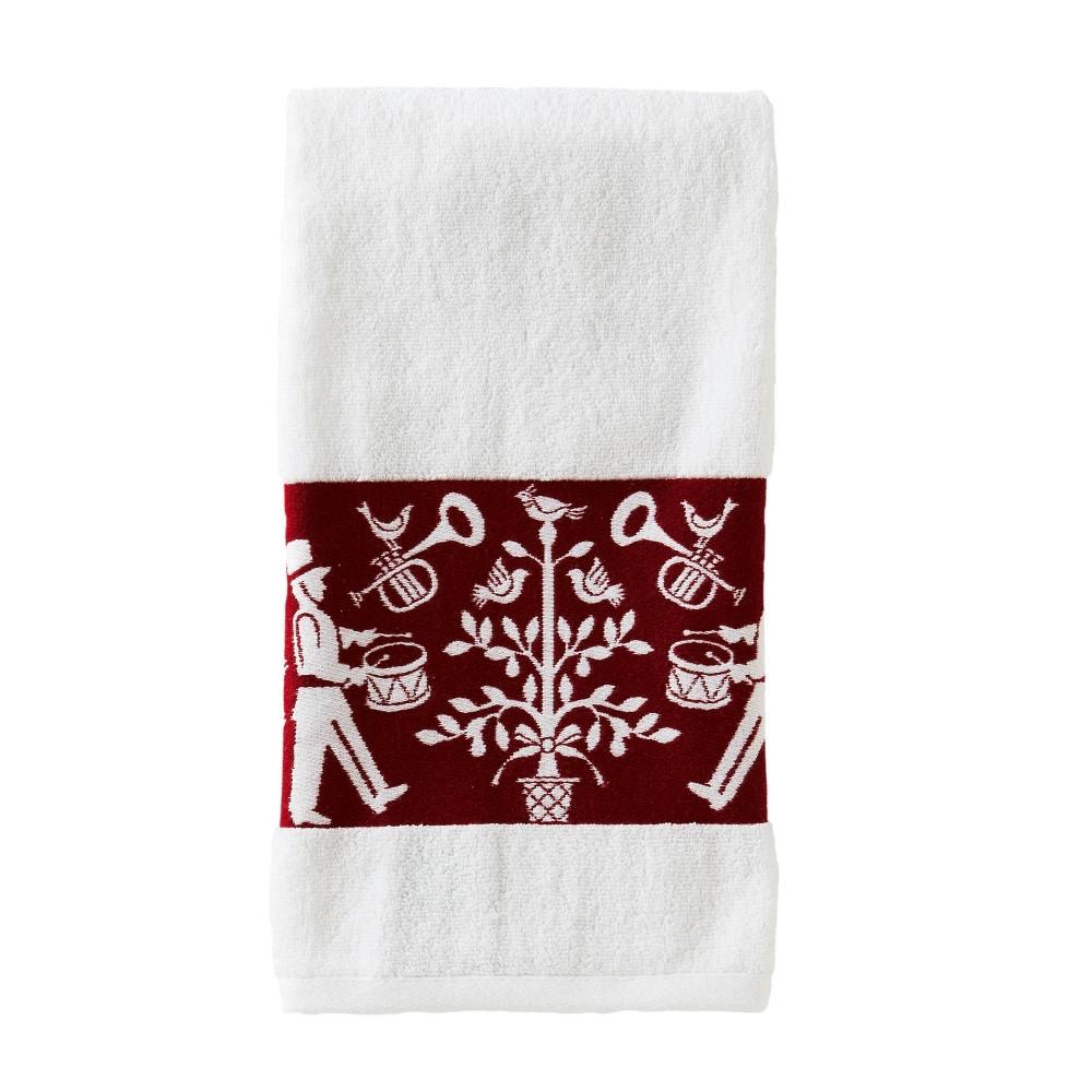 Vern Yip Christmas Carol Bath Towel White Skl Home