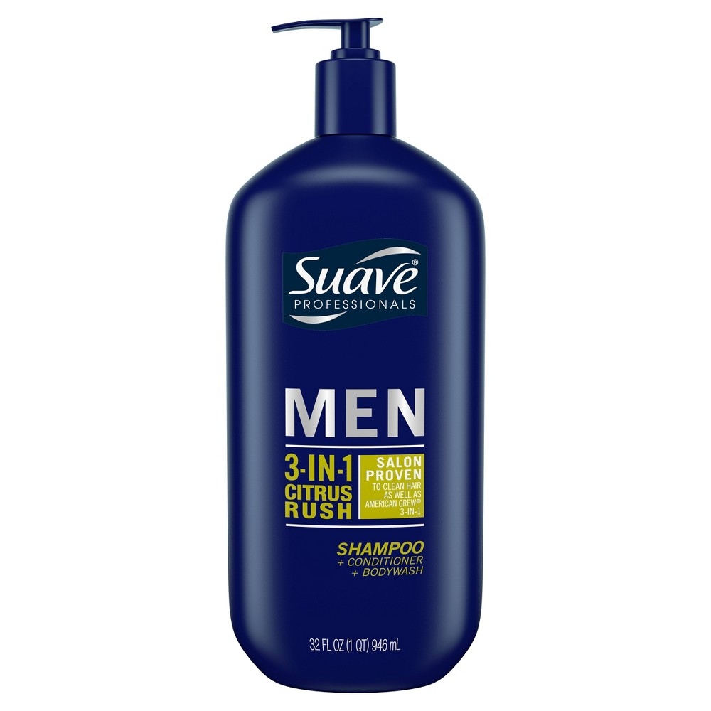 Image of Suave 3-in-1 Body Wash Shampoo and Conditioner - 32 fl oz