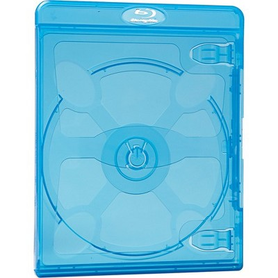 Verbatim Blu-Ray DVD Blue Cases - 30pk - Plastic