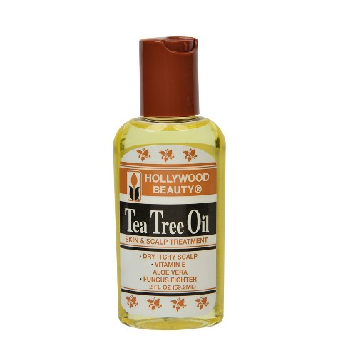 Hollywood Beauty Tea Tree Oil Skin and Scalp Treatment - 2 fl oz - image 1 of 3