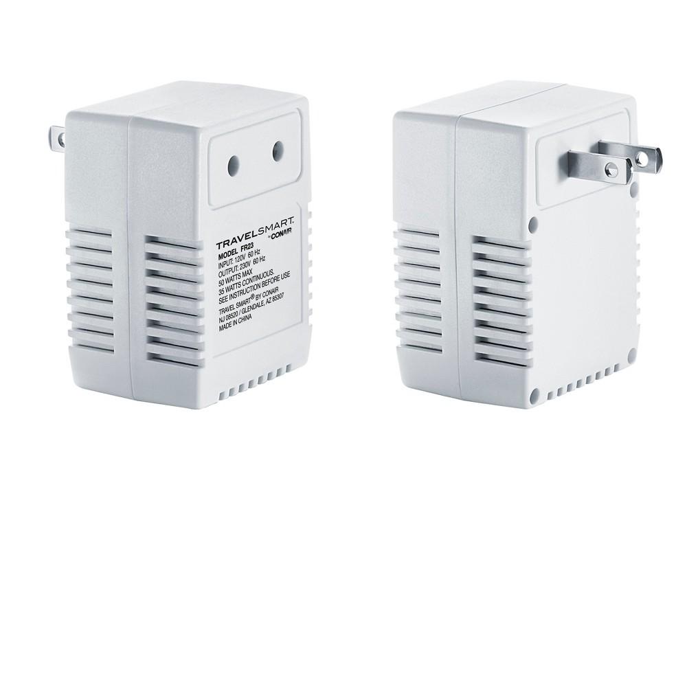 Image of Travel Smart Reverse 50-Watt Transformer, White