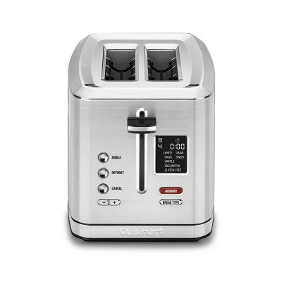 Cuisinart 2 Slice Digital Toaster w/ MemorySet Feature - Stainless Steel - CPT-720