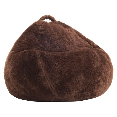 Shag Teardrop Bean Bag   Big Joe