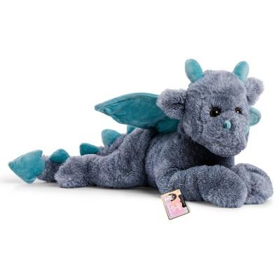 "FAO Schwarz Adopt-A-Pets Dragon 22"" Stuffed Animal with Adoption Certificate"