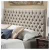 Queen/Full Jezebel Button Tufted Headboard - Christopher Knight Home - image 2 of 4