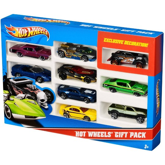 Hot Wheels Diecast 9 Car Gift Pack image number null