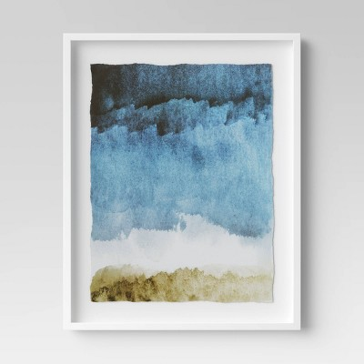 "24"" x 30"" Painting Framed Print Blue - Project 62™"