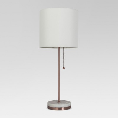 Hayes Marble Base Stick Lamp Copper Lamp Only - Project 62™