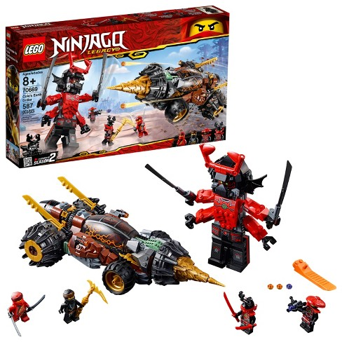 LEGO Ninjago: Masters of Spinjitzu Cole's Earth Driller 70669 - image 1 of 4
