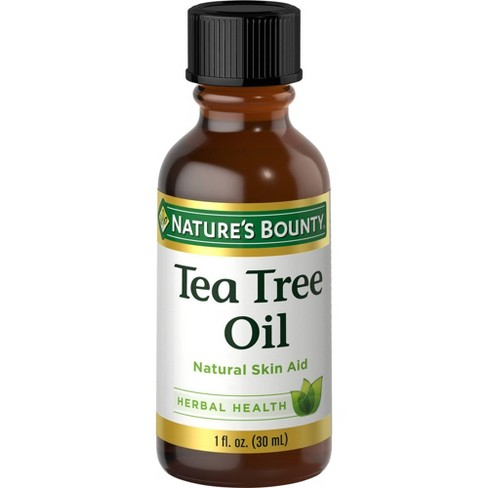 Nature's Bounty Natural Tea Tree Oil Herbal Supplement - 1oz - image 1 of 4