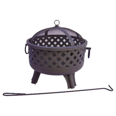 Landmann Baton Rouge Fire Pit Steel - Black - image 1 of 2
