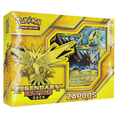 Pokemon Legendary Battle Deck-Zapdos Collectible Trading Cards - image 1 of 2