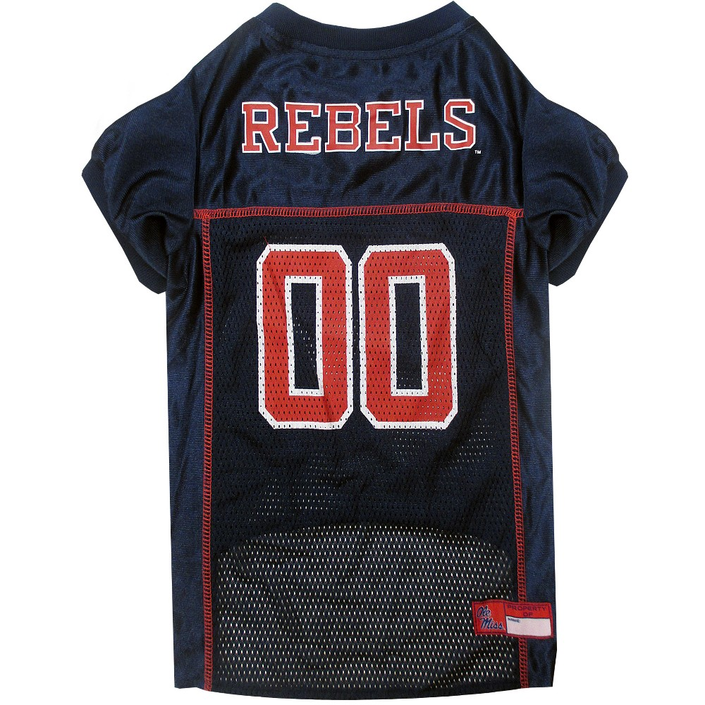 Pets First Ole Miss Rebels Mesh Jersey - M, Multicolored