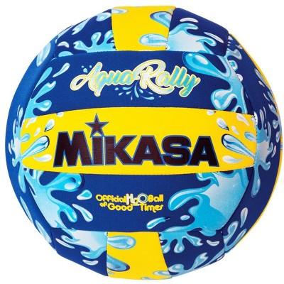 Mikasa Aqua Rally Volleyball, Blue/Yellow