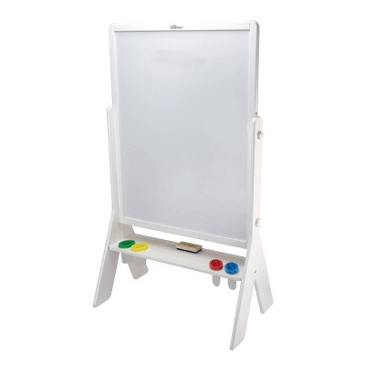 Little Partners Soft White Contempo Art Easel