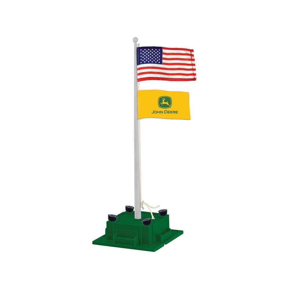 Lionel John Deere Illuminated Flagpole