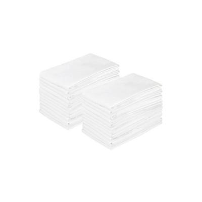 24pk 300 Thread Count Bulk Pack Pillowcase White - Bokser Home Hospitality