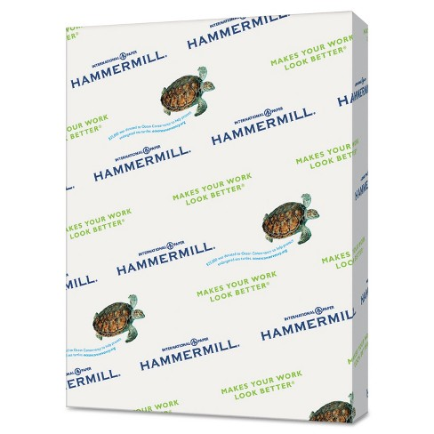Hammermill Recycled Colored Paper 20lb 8-1/2 x 11 Salmon 5000 Sheets/Carton 103119CT - image 1 of 1