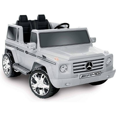 Kid Motorz 12V Mercedes Benz G55 Two Seater Powered Ride-On - Silver