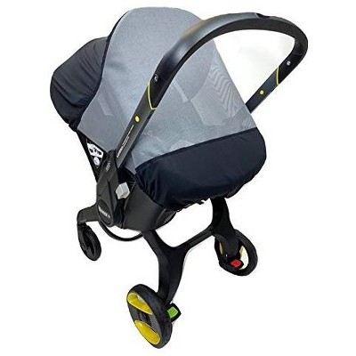 Sasha's Premium Rain Shield and Wind Cover For Car Seats, Compatible with Doona Infant Car Seat