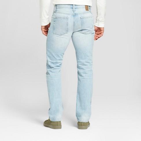 deba833cc208 Men's Slim Straight Fit Selvedge Denim - Goodfellow & Co™ Light Wash ...