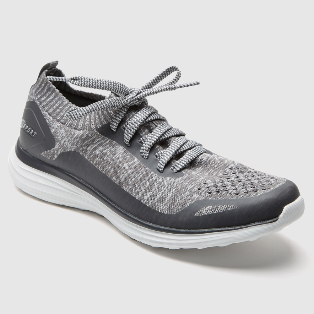 Men's S Sport by Skechers Chad Knit Athletic Shoes - Grey 12, Size: Small, Gray