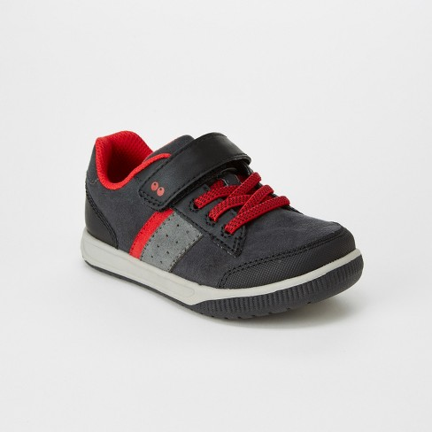 fd74873abbd9 Toddler Boys  Surprize By Stride Rite Miles Sneakers - Black   Target
