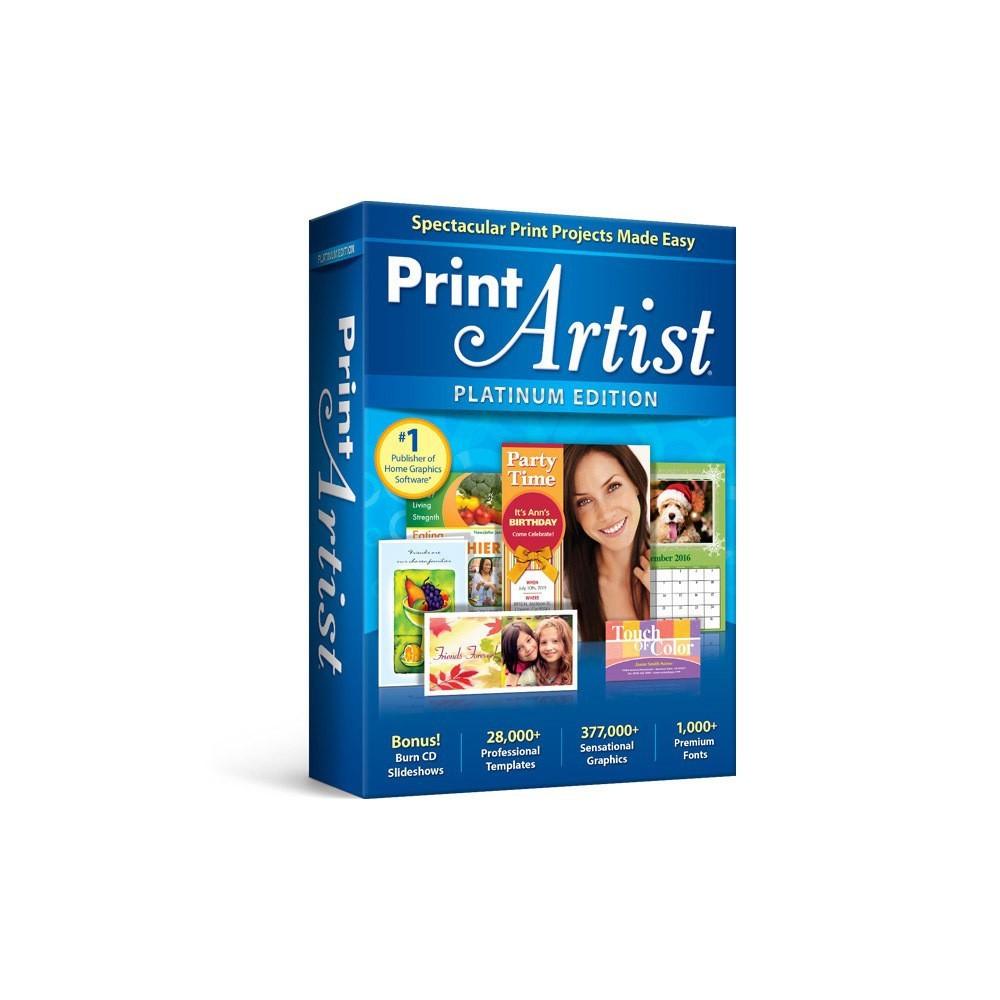 Avanquest Print Artist Platinum Pc Digital