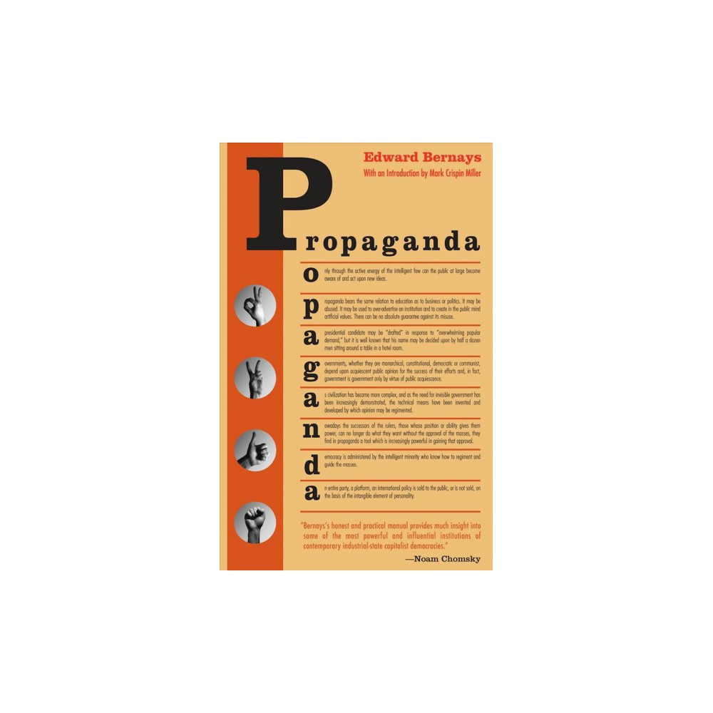 Propaganda - by Edward L. Bernays & Mark Crispin Miller (Paperback)