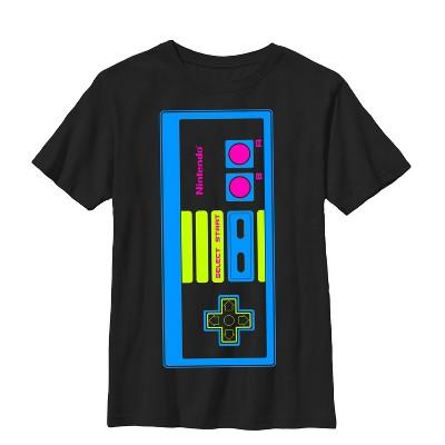 Boy's Nintendo Big NES Controller T-Shirt