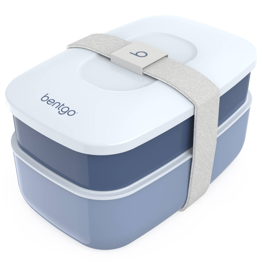 Image of Bentgo Classic All-in-One Stackable Lunch Box Container - Slate